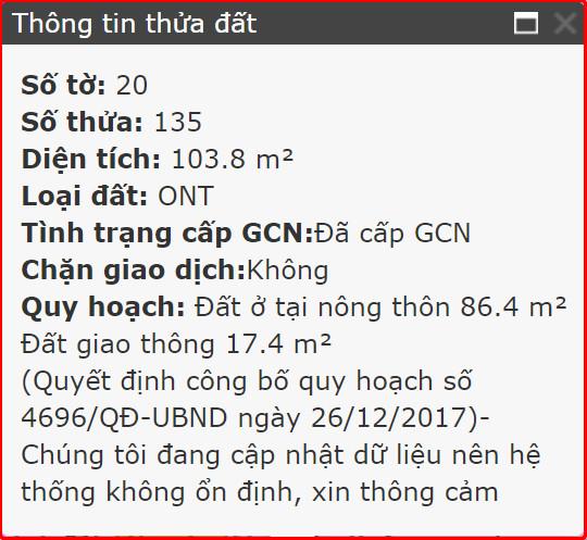 Bán đất xã Phú Đông Nhơn Trạch Đồng Nai mặt tiền Võ Thị Sáu 20/135-3
