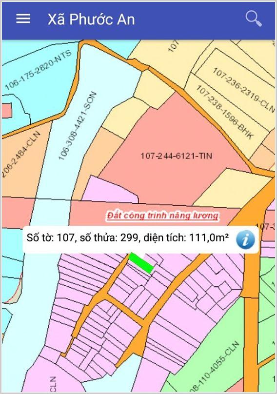 Bán đất xã Phước An Nhơn Trạch Đồng Nai khu dân cư hiện hữu 107/299