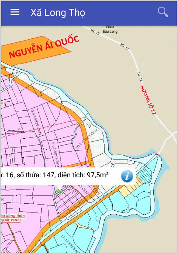 Bán đất xã Long Thọ Nhơn Trạch Đồng Nai gần Nguyễn Ái Quốc và Quốc Lộ 51
