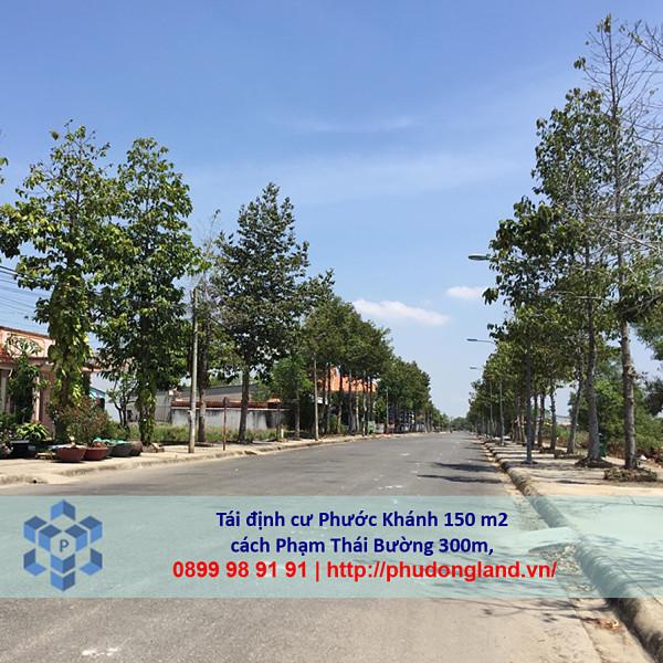 Bán đất tái định cư Phước Khánh Nhơn Trạch Đồng Nai 17/19-4