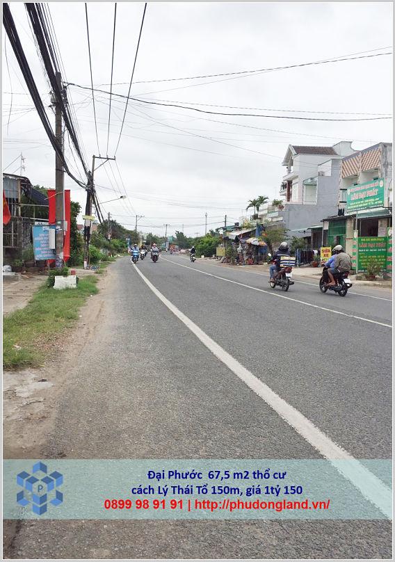 Bán đất Nhơn Trạch Đồng Nai gần phà Cát Lái xã Đại Phước 18-469