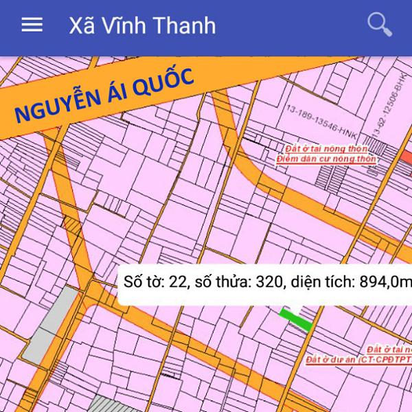 Bán đất xã Vĩnh Thanh Nhơn Trạch Đồng Nai cách Nguyễn Ái Quốc 500m 1