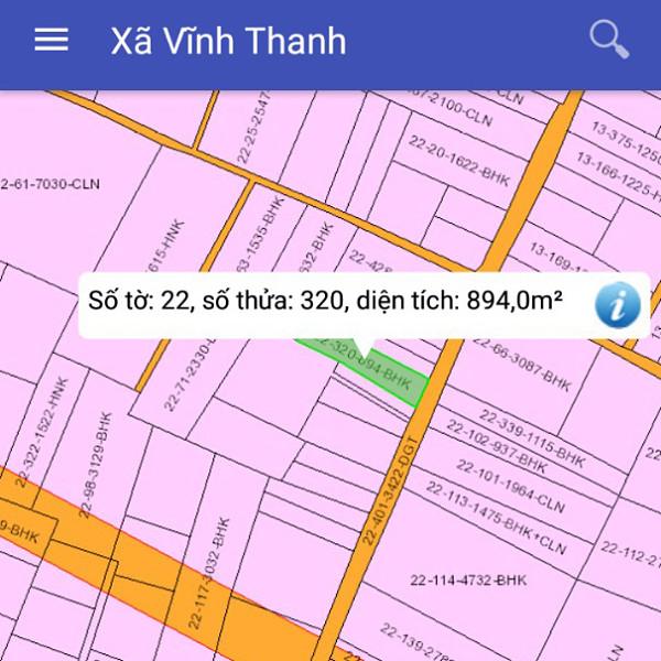 Bán đất xã Vĩnh Thanh Nhơn Trạch Đồng Nai cách Nguyễn Ái Quốc 500m 2