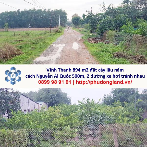 Bán đất xã Vĩnh Thanh Nhơn Trạch Đồng Nai cách Nguyễn Ái Quốc 500m 4