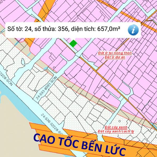 Bán đất xã Vĩnh Thanh Nhơn Trạch Đồng Nai gần cao tốc Bến Lức 24/356-1