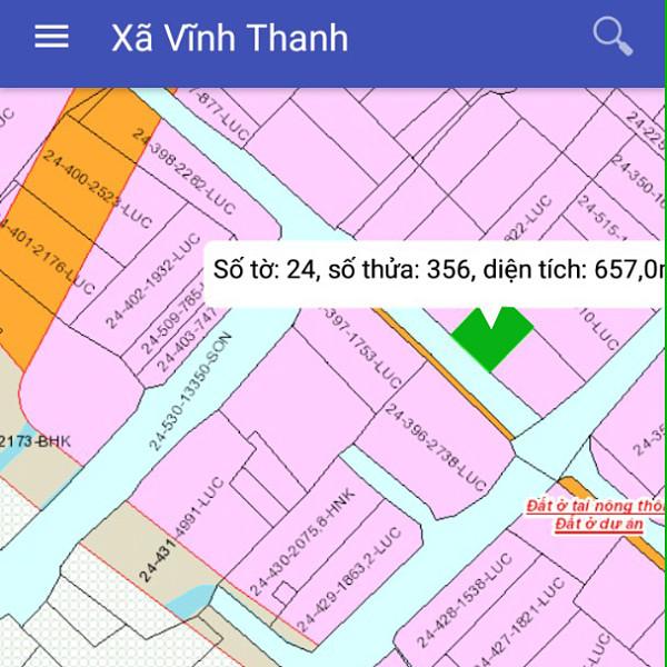 Bán đất xã Vĩnh Thanh Nhơn Trạch Đồng Nai gần cao tốc Bến Lức 24/356-
