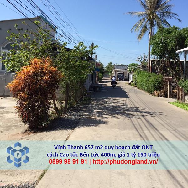Bán đất xã Vĩnh Thanh Nhơn Trạch Đồng Nai gần cao tốc Bến Lức 24/356-4