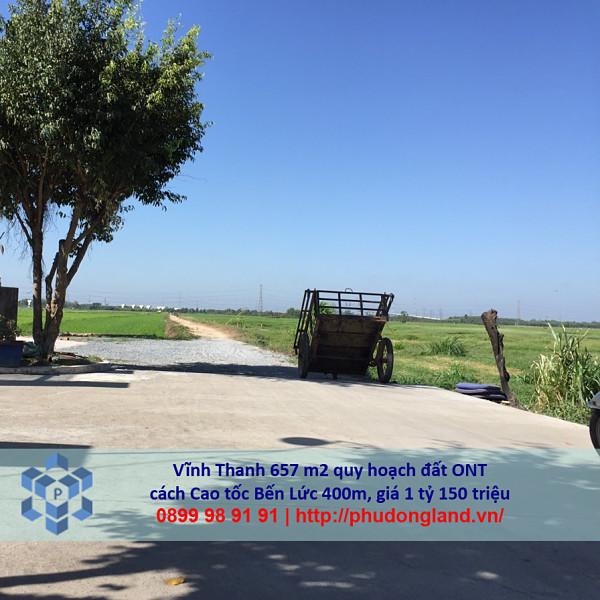 Bán đất xã Vĩnh Thanh Nhơn Trạch Đồng Nai gần cao tốc Bến Lức 24/356-3