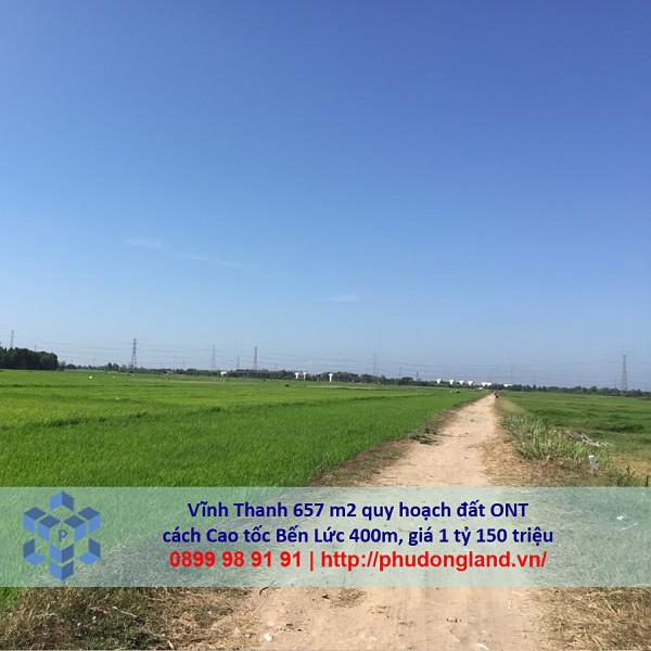 Bán đất xã Vĩnh Thanh Nhơn Trạch Đồng Nai gần cao tốc Bến Lức 24/356-6