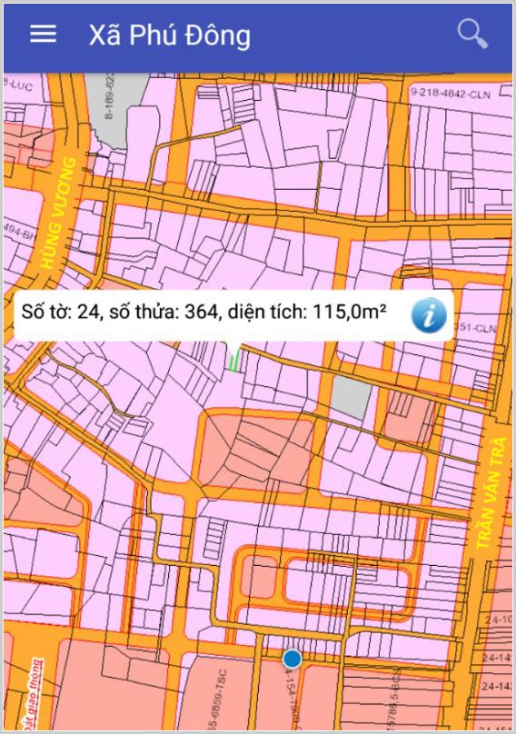 Bán đất xã Phú Đông Nhơn Trạch Đồng Nai gần đường Trần Văn Trà 24/364