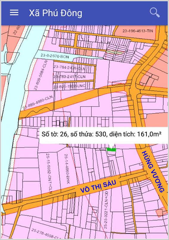 Bán đất xã Phú Đông Nhơn Trạch Đồng Nai