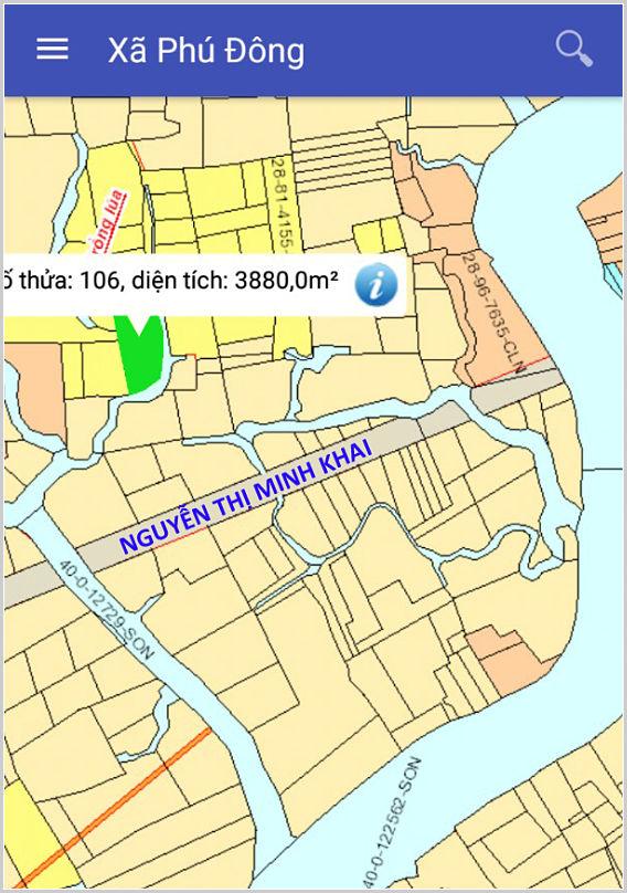 Mua bán đất nông nghiệp Đồng Nai xã Phú Đông Nhơn Trạch gần đường Nguyễn Thị Minh Khai