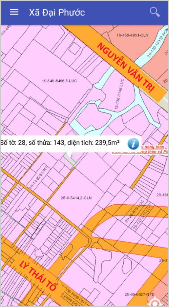 Bán đất Nhơn Trạch Đồng Nai gần phà Cát Lái 28/143 xã Đại Phước