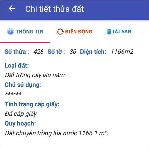 Mua bán đất nông nghiệp Đồng Nai xã Phú Đông Nhơn Trạch 30/428-3