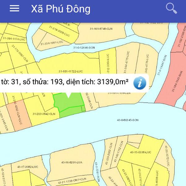 Mua bán đất nông nghiệp Đồng Nai xã Phú Đông Nhơn Trạch mặt tiền sông 80m 31/193-1