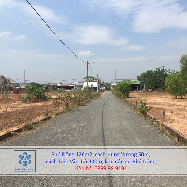 Bán đất xã Phú Đông Nhơn Trạch Đồng Nai cách Hùng Vương 50m