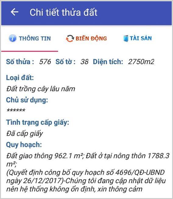 Bán đất xã Phú Thạnh Nhơn Trạch Đồng Nai 38/576
