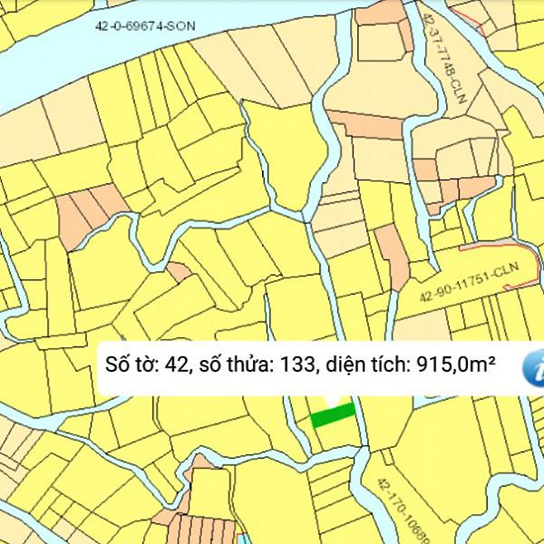 Mua bán đất nông nghiệp Đồng Nai xã Phú Đông Nhơn Trạch mặt tiền sông 42/133-1