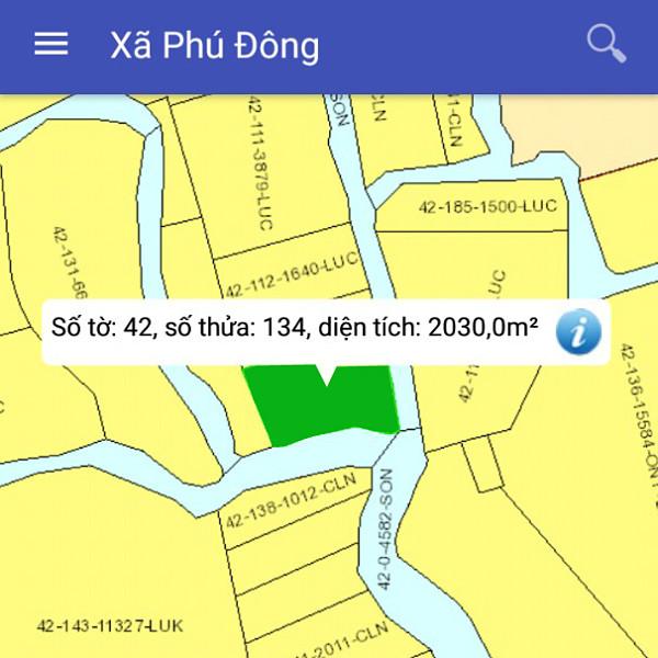 Mua bán đất nông nghiệp Đồng Nai xã Phú Đông Nhơn Trạch mặt tiền sông 42/134-2