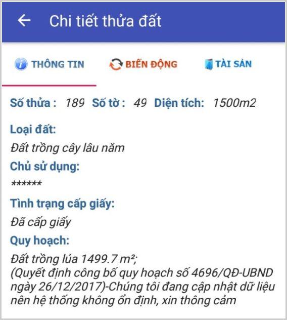 Mua bán đất nông nghiệp Đồng Nai xã Phú Đông Nhơn Trạch 49/189-2