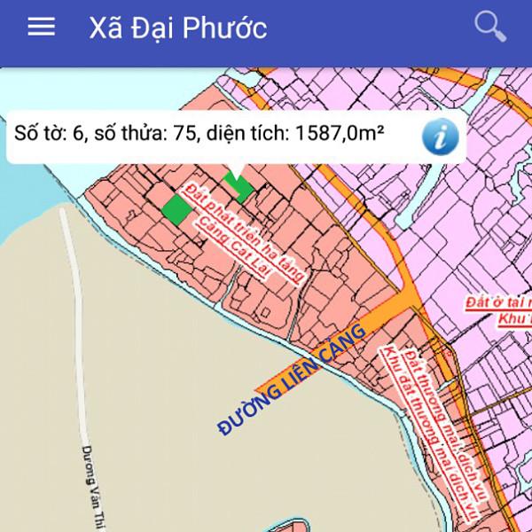 Bán đất Nhơn Trạch Đồng Nai gần phà Cát Lái 6/75-1