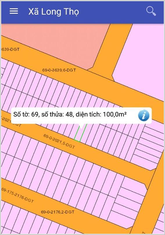 Bán đất dự án HUD Nhơn Trạch Đồng Nai 69/48 giá dưới 1 tỷ