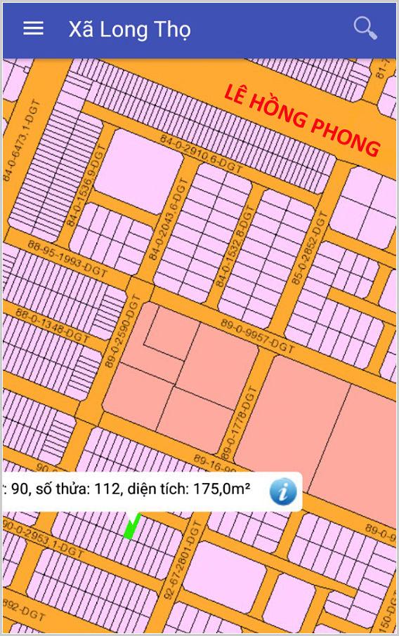 Bán đất dự án HUD Nhơn Trạch Đồng Nai 90/112